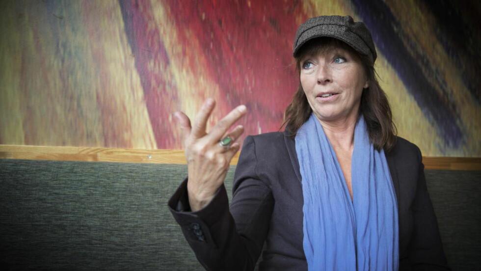 FRYKTEN FORSVANT: Anita Skorgan er ikke nervøs når hun står på scenen i «Stjernekamp». Etter å en dobbeltime hos en idrettspsykolog, og psykologi-studier, har hun sluttet å være redd. Foto: Bjørn Langsem / DAGBLADET