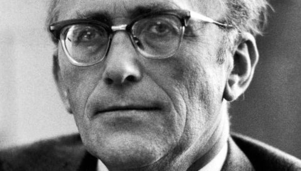 HEMMELIG: For to uker siden skrev Dagbladet at Justisdepartementet nekter å gi innsyn i dokumenter om spionanklagene mot Ap-politikeren Gunnar Bøe, 52 år etter at han gikk av som statsråd. Foto: NTB SCANPIX