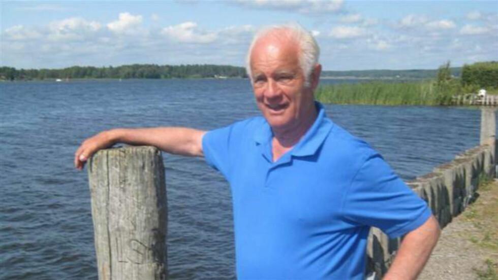 BLE SKREVET UT FRA SYKEHUS -DØDE: Svenske Jan-Erik Granath (71) fikk beskjed om at han hadde nyrestein og ble sendt hjem fra sykehus. Etter en halvtime døde han plutselig. Foto: Expressen / Privat med tillatelse fra familien