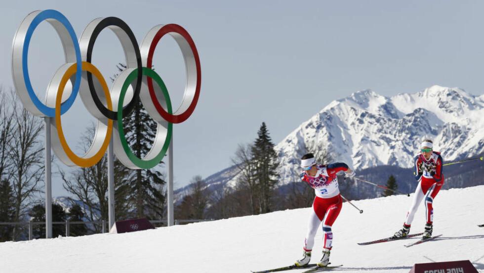 SKATT: Skal de olympiske ringene igjen skinne i Oslo, krever IOC at de enten får unntak fra alle skatter og avgifter - eller får skatten refundert etter mesterskapet. Foto: Heiko Junge / NTB scanpix