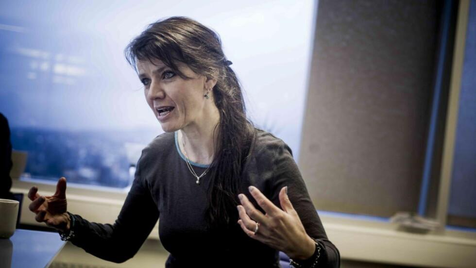PRELLER AV: Spekter-direktør Anne-Kari Bratten lar likestillingskritikken fra Unio prelle av. Foto:Thomas Rasmus Skaug / Dagbladet