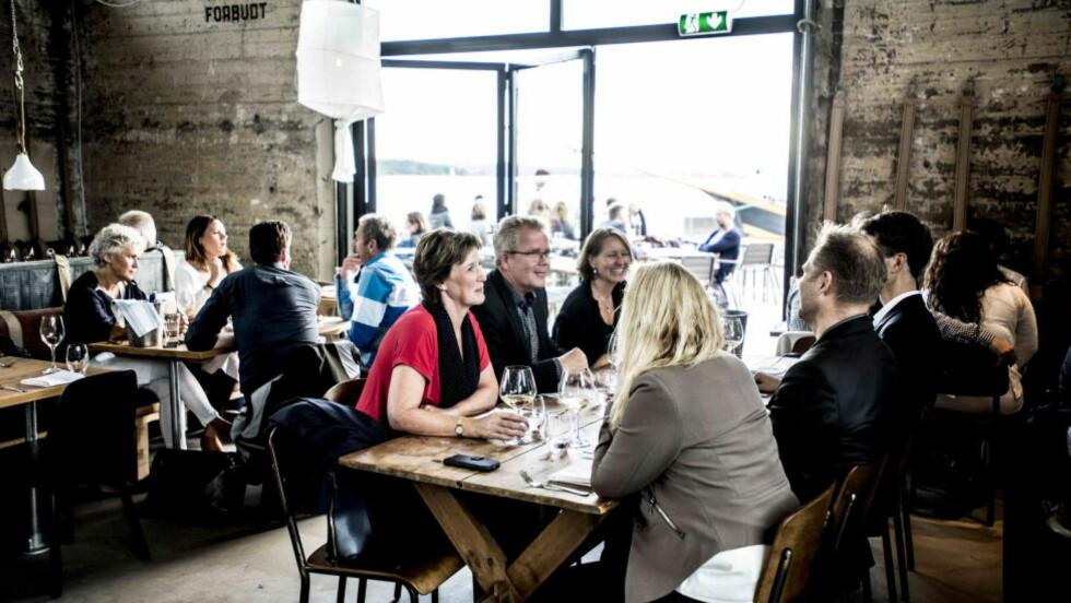 Populær nykommer: Nytt sted langs Akershusstranda, med mye italienskinspirerte fiske- og sjømatretter på menyen.    Foto: Thomas Rasmus Skaug / Dagbladet