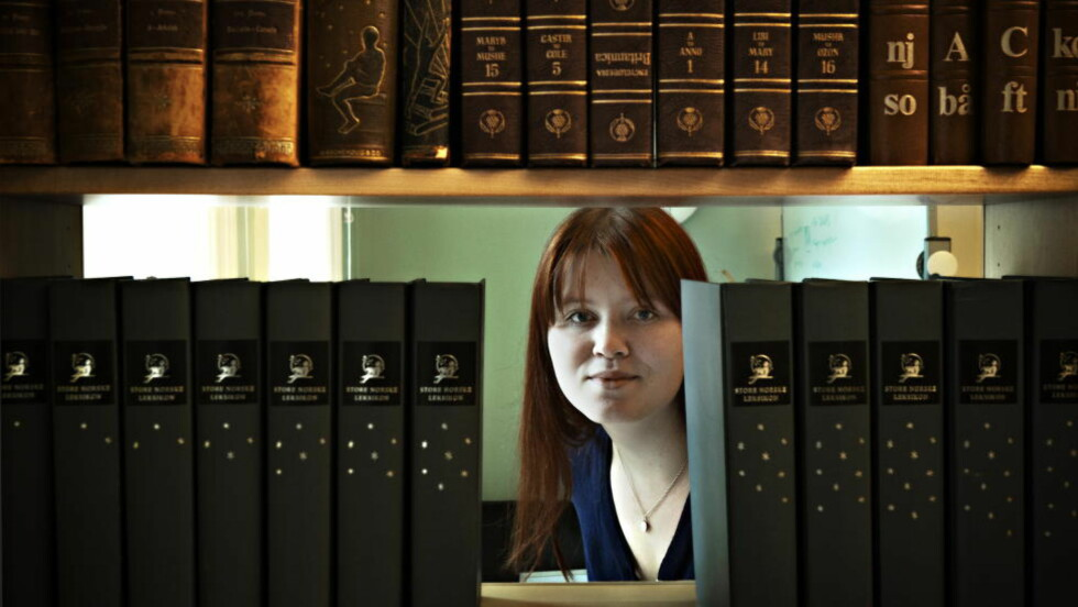MORFARS HEMMELIGHET: Ida Jackson har skrevet en bok om å forsone seg med morfaren som var glødende nazist. Til daglig er hun informasjonssjef i Store Norske Leksikon. Foto: Jørn H. Moen / Dagbladet