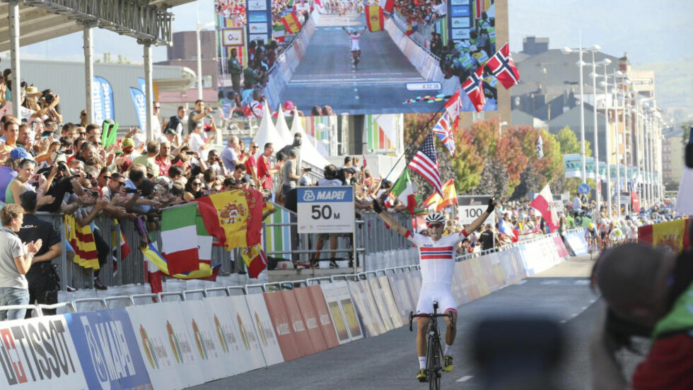 ALEXANDER KRISTOFF: Ble svært imponert og inspirert av Bystrøms VM-seier i dag. (Foto: Vidar Ruud / NTB scanpix)