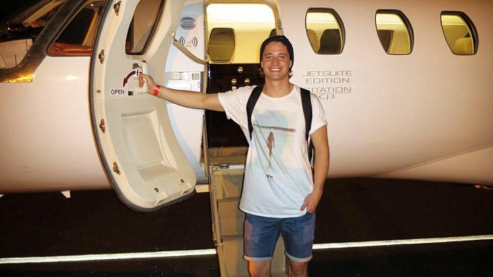 PÅ TURNÉ: Norske Kyrre Gørvell-Dahl gjør stor suksess om dagen, og for tida er han i USA og turnerer. I helga erstattet han Avicii på elektronikafestivalen «TomorrowWorld». Foto:  Lars Gørvell-Dahll