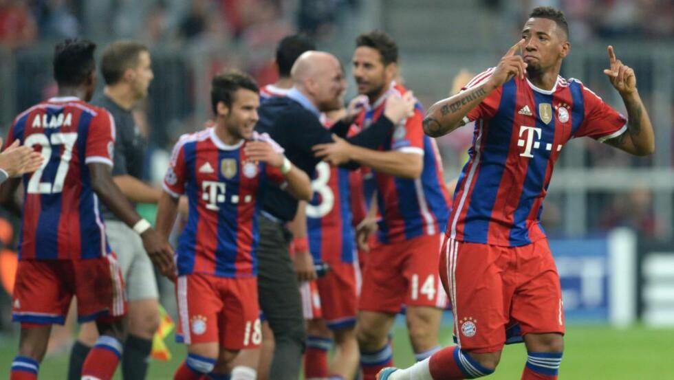 GOD START: Bayern München slo Manchester City 1-0 etter en sen scoring i den første gruppespillskampen i årets Champions League. Før kamp nummer to har tyskerne fått en dårlig oppladning. Foto: AFP PHOTO / CHRISTOF STACHE / NTB Scanpix