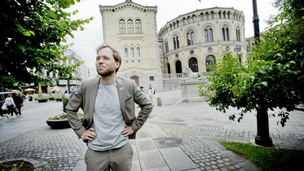 DÅRLIG RYKTE: SV-leder Audun Lysbakken må konstatere at partiet sliter både på meningsmålingene og med omdømmet. Foto: Anita Arntzen / Dagbladet