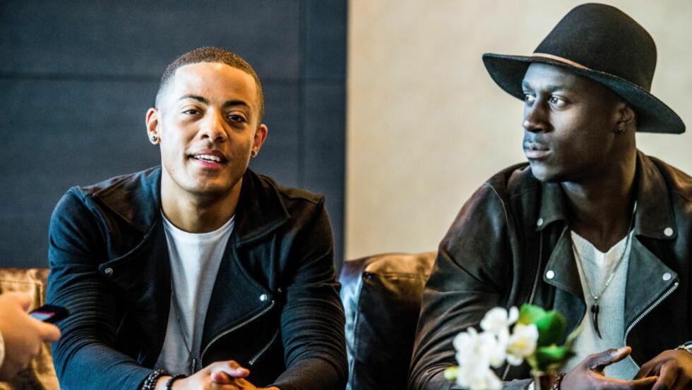 HELNORSK ALBUM: Selv om Nico & Vinz har flyttet til Los Angeles, har de ikke flagget ut på det kommende albumet «Black Star Elephant».  Foto: Thomas Rasmus Skaug / Dagbladet