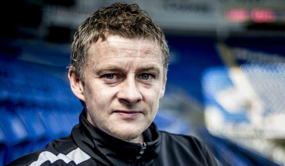 TRAKK SEG:  Ole Gunnar Solskjær er ferdig i Cardiff. Foto: Thomas Rasmus Skaug