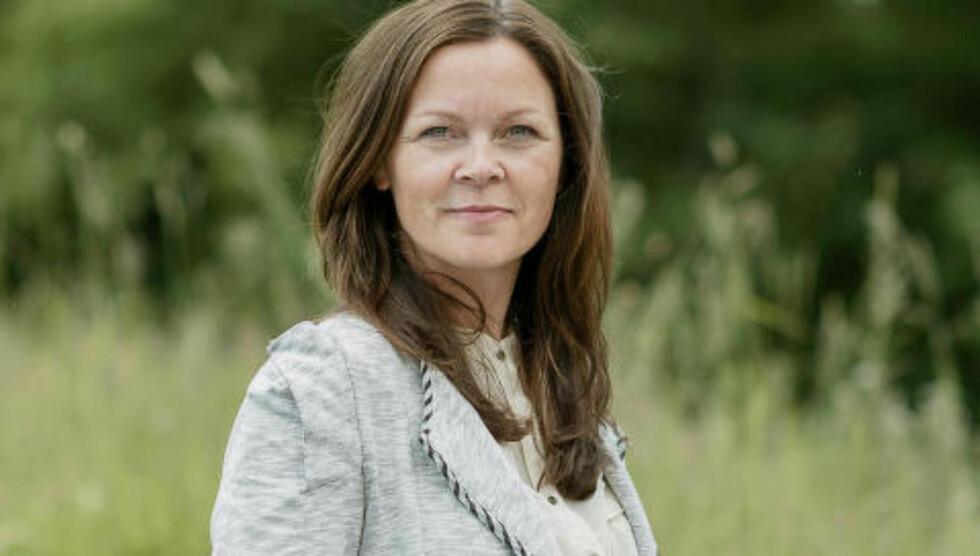 INFORMASJONSDIREKTØR: Elin Ytterdahl Tohje i bøndenes eget slakterisamvike, Nortura. Foto: Nortura