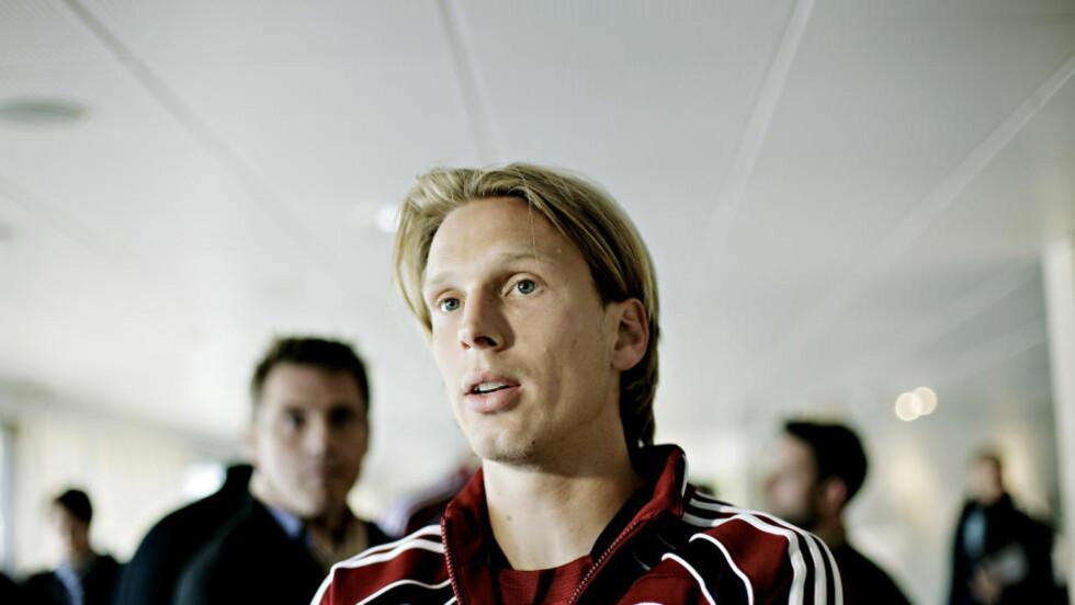 KLAR FOR FCK:  Chistian Poulsen skal spille for det danske laget ut denne sesongen. Foto: Kristian Ridder-Nielsen/Dagbladet
