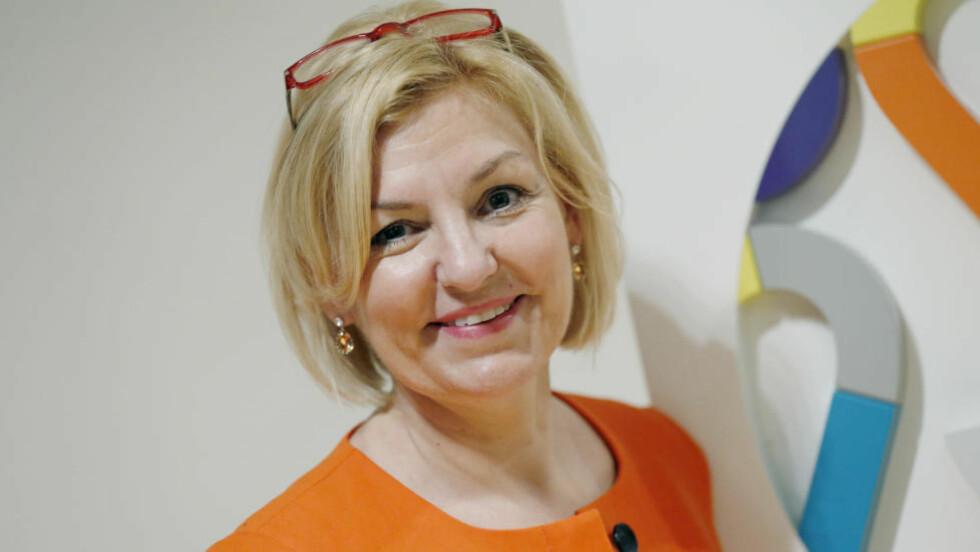 AVVISER FEIL: Direktør Eli Grimsby i Oslo 2022 sier hun er forundret over vurderingene til regjeringens talknuserutvalg som sier at et billig-OL vil bli fire milliarder dyrere enn hva de har vurdert. Foto: Cornelius Poppe / NTB scanpix