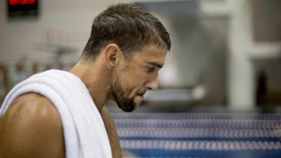 BEKLAGET:  Michael Phelps etter fylleskandalen. Foto: NTB Scanpix