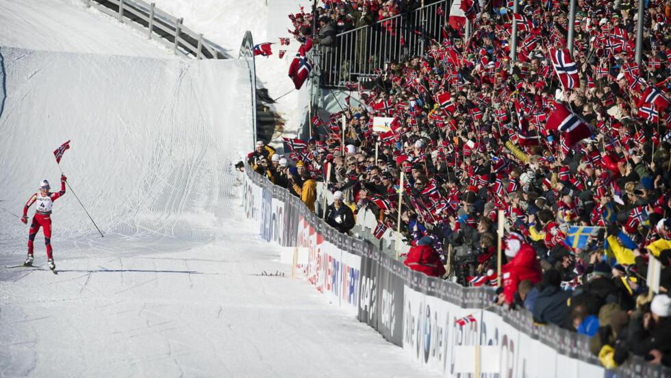 INGEN FOLKEFEST:  De som hadde håpet på en folkefest i 2022, fikk seg en real knekk i dag etter at Høyre presenterte sitt OL-nei.