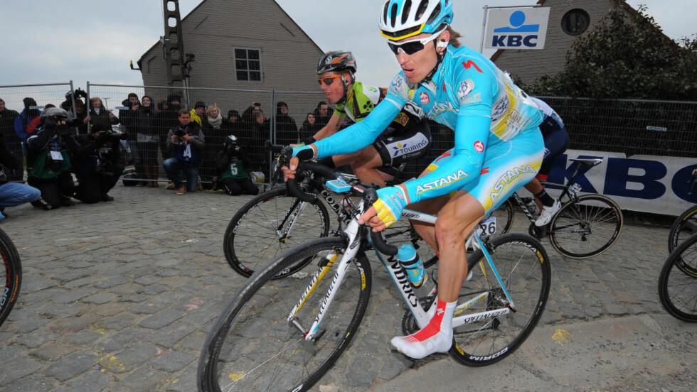 UTESTENGT: Maxim Iglinskiy har testet positivt for EPO og er midlertidig utestengt av UCI. (Foto: Tim de Waele).