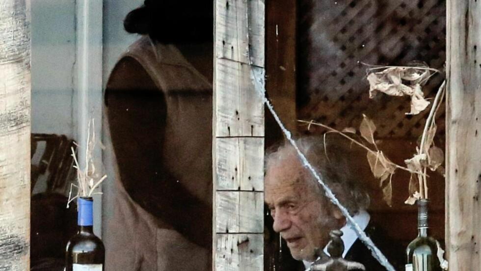 Poeten Nicanor Parra hjemme i Las Cruces, 100 kilometer vest for Santiago. Foto: SCANPIX/AFP