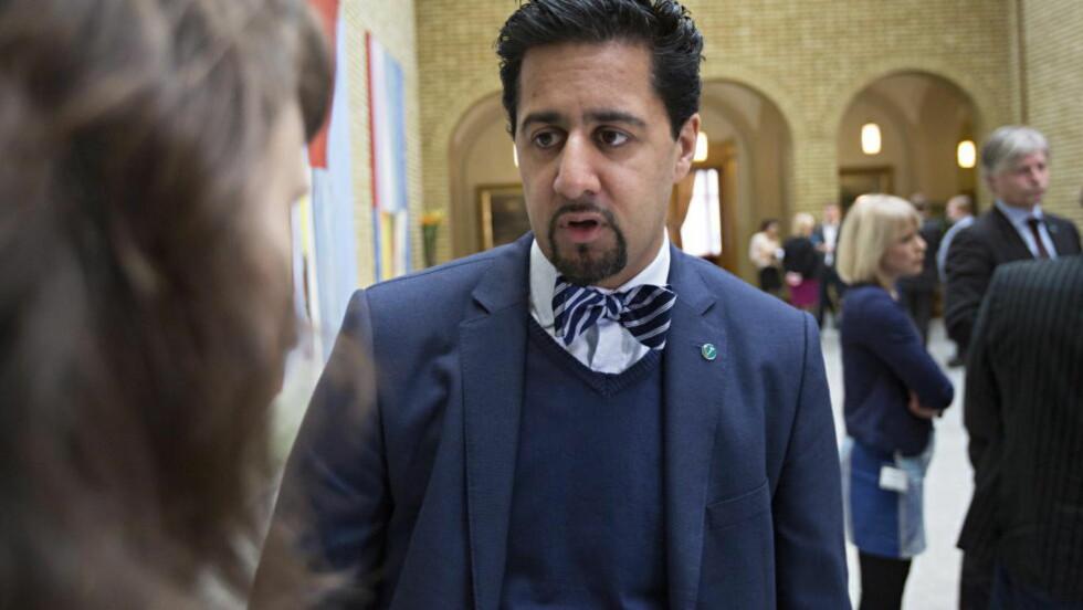 VIL HA LOVENDRING: Stortingsrepresentant Abid Q. Raja fra Venstre. Foto: Torbjørn Berg / Dagbladet