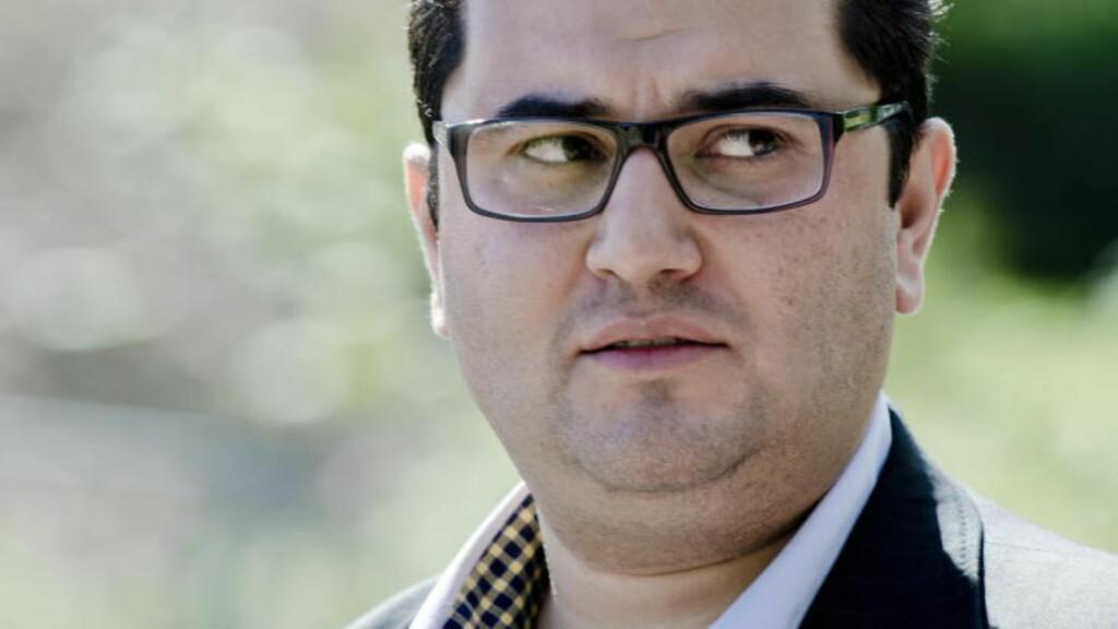 VIL DISKUTERE LOVENDRING: Mazyar Keshvari (Frp) vil diskutere om forherligelse av terroraksjoner bør bli forbudt. Foto: Benjamin A. Ward / Dagbladet