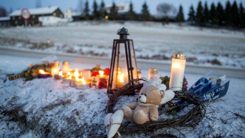 TILTALT FOR UAKTSOMT DRAP:  En mann i 40-årene er tiltalt for uaktsomt bildrap etter at han kjørte på to jenter på riksvei 229 i Bjørkelangen i januar. Foto: Thomas Winje Øijord / NTB scanpix