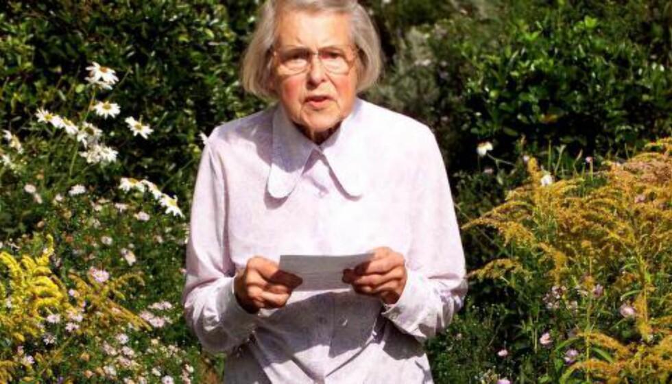 ANGRET INGENTING: «Jeg angrer ikke det jeg gjorde. Det var riktig å gjøre det på den tida», var 87-år gamle Melita Norwoods første reaksjon da hun ble avslørt som spion. Foto: KIERAN DOHERTY/REUTERS/NTB SCANPIX
