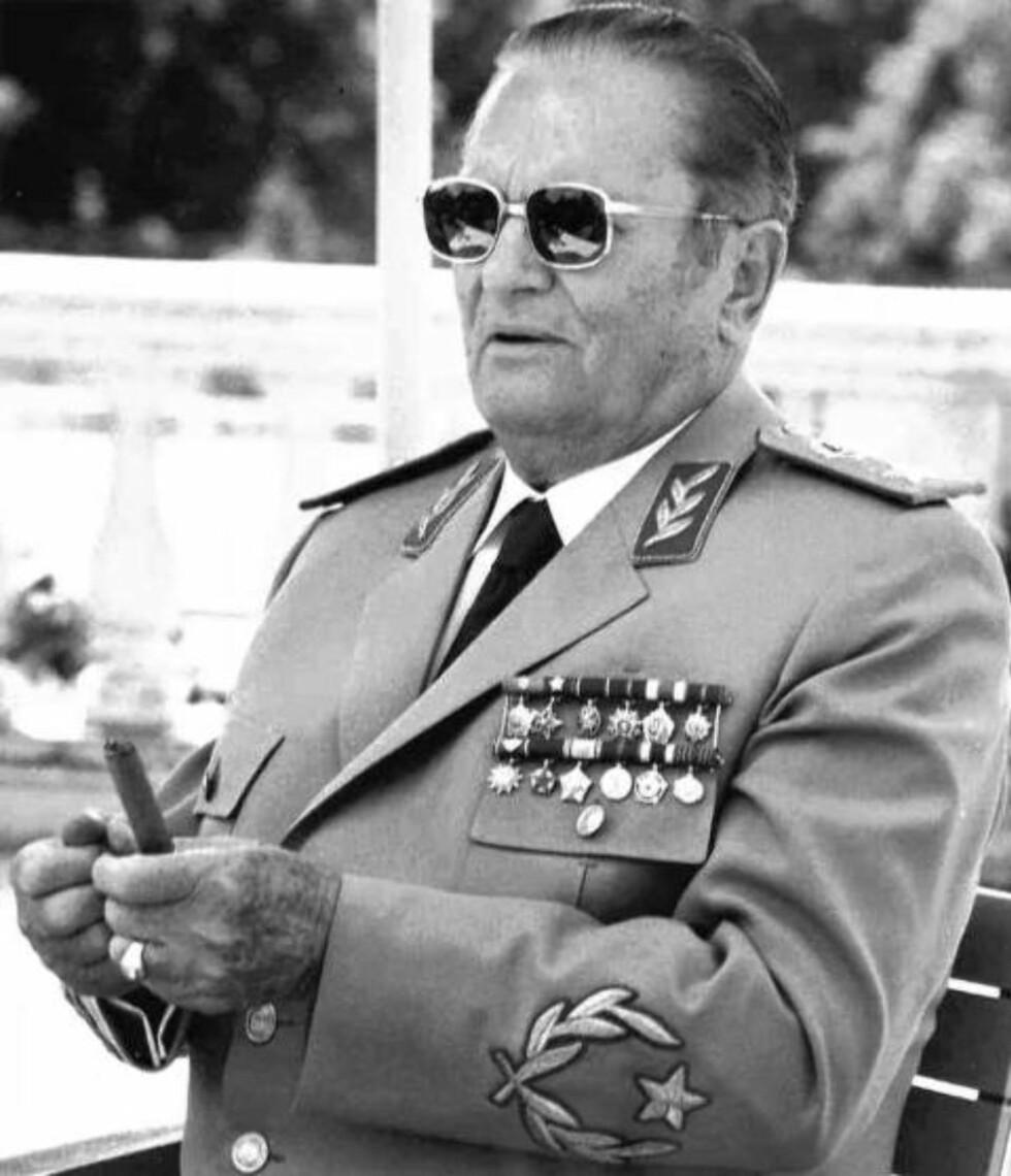 SKULLE DREPES: KGB-agenten Iosif Grigulevich fikk ordre om å drepe Jugoslavias president, Josip Broz Tito (bildet), og møtte presidenten en rekke ganger, men etter at Stalin døde i 1953 ble planene avlyst. Foto: NTB SCANPIX