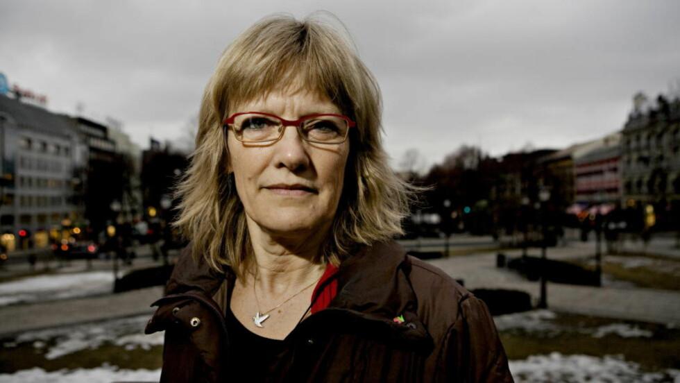 KREVER STANS: Karin Andersen (SV) krever full stans av utsendelser av lengeværende asylbarn som har vært her i tre år eller mer, og deres familier. Foto: Torbjørn Grønning / Dagbladet