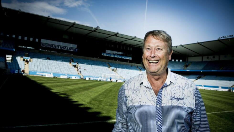 ENORM SUKSESS. Åge Hareide har enorm suksess som trener for Malmö FF. Nå gir sjefen seg selv og spillerne fri en hel uke. Foto: Christian Roth Christensen / Dagbladet