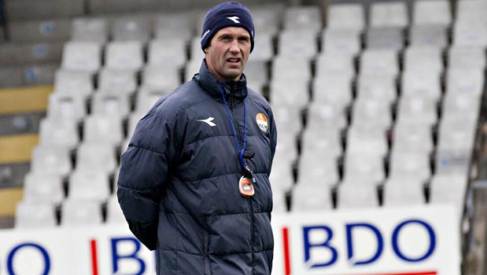 UTEN BEKYMRING. Ronny Deila sier han ikke er bekymret for situasjonen i Celtic, selv om det ble nytt tap i serien. Foto: Torbjørn Berg / Dagbladet