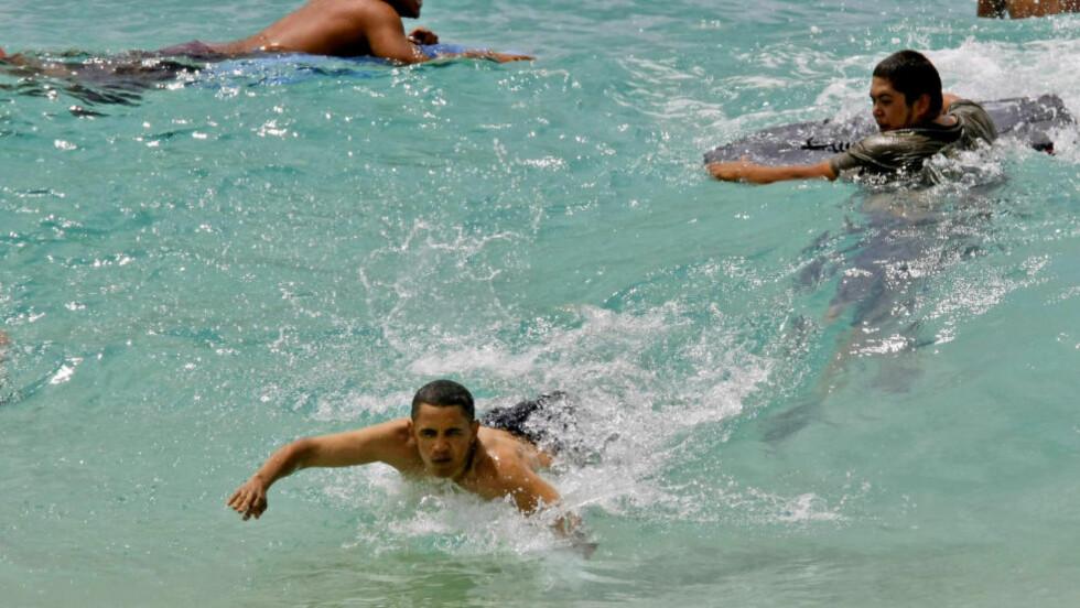 FORANDRING:  Planen var å omdøpe populære Sandy Beach Park nær Hanauma Bay på øya Oahu til president Barack Obama Sandy Beach Park, men dette blir det ikke noe av. Arkivfoto: AP.