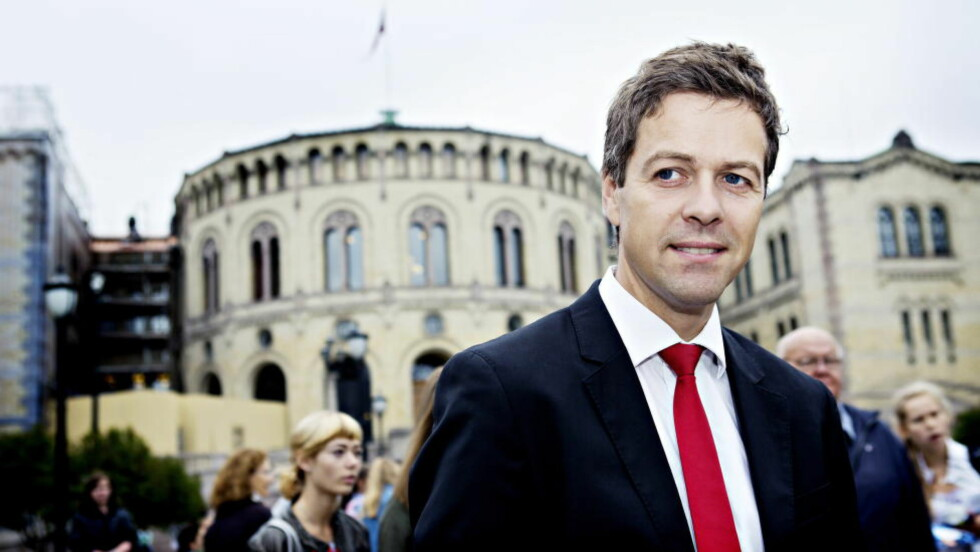 KAN BLI BRÅK:  Krf-leder Knut Arild Hareide har varslet at Krf vil bruke sin posisjon til å sikre at bistandsnivået ligger p 1 prosent av BNP.  Foto. Nina Hansen / Dagbladet