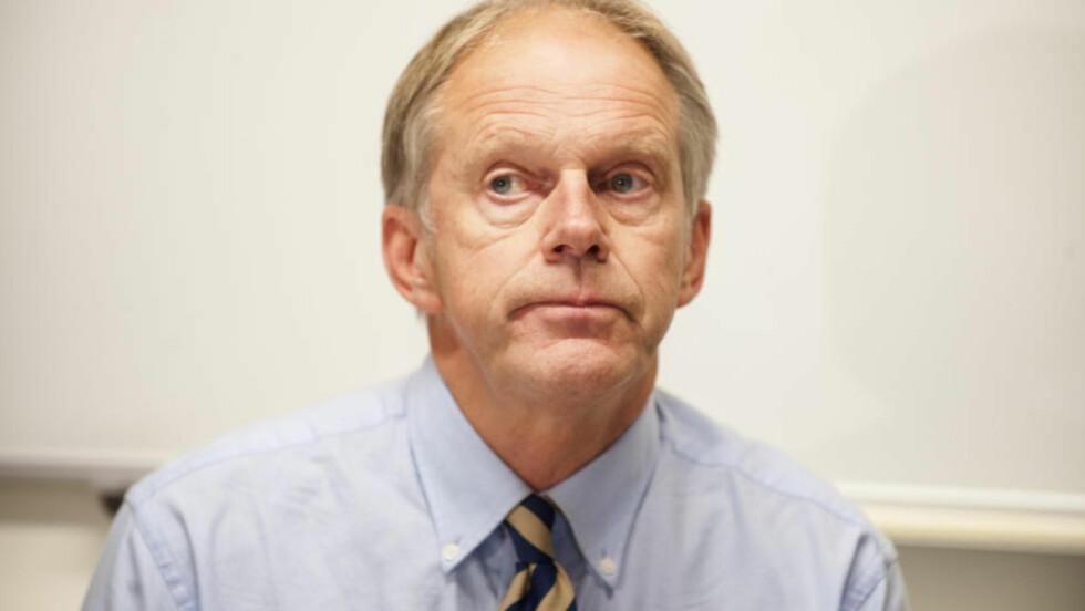 STATSADVOKAT:  Førstestatsadvokat Bjørn Kristian Soknes vil ikke anke Northug-dommen. Foto: Ned Alley / NTB scanpix