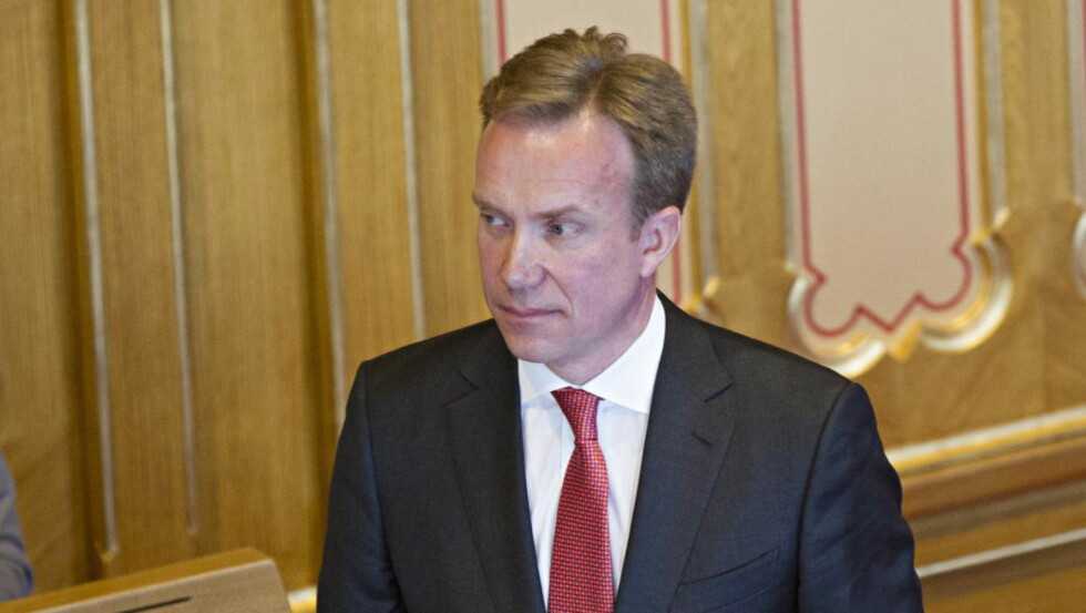 TIL VEST-AFRIKA: Utenriksminister Børge Brende (H). Foto: Torbjørn Berg / Dagbladet