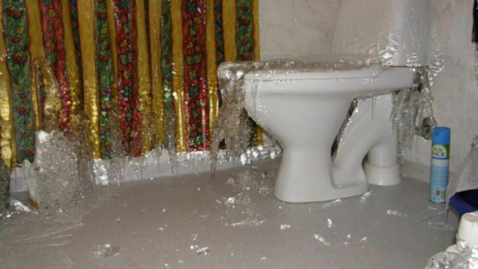 DYRT: Vannskader får langt større omfang på hytter, fordi det tar lang tid å oppdage dem. Foto: IF SKADEFORSIKRING