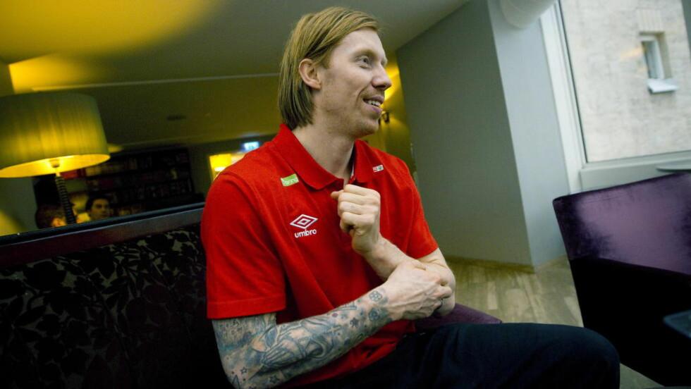FERDIG:   Han har gitt alt for landslaget i 14 år, men nå er Børge Lund ferdig. Foto: Bjørn Langsem