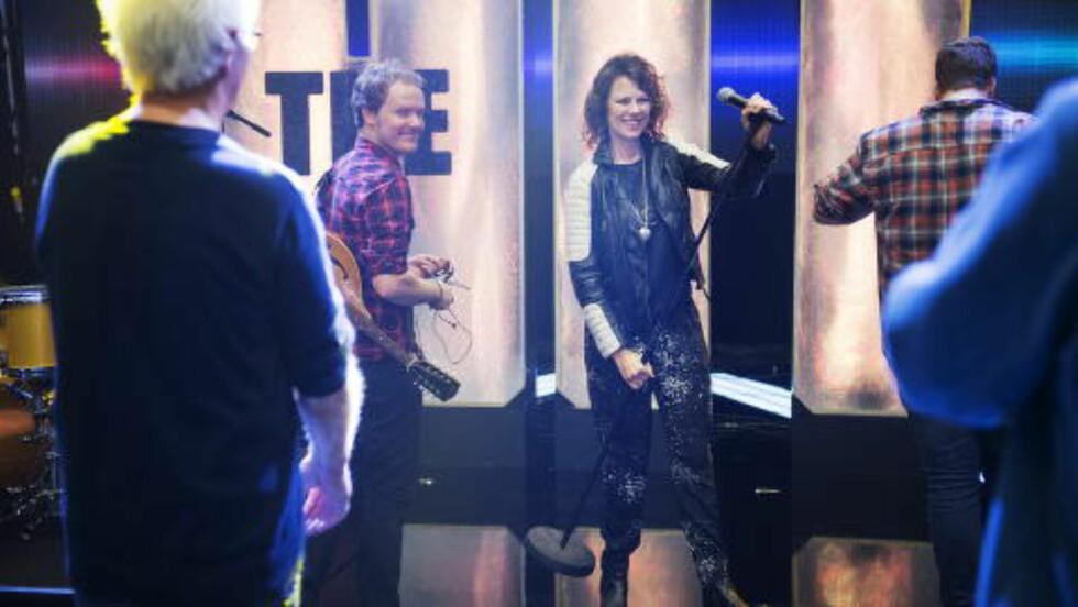 <strong>NY HIT?:</strong> Trine Rein er med på NRKs jakt på en superlåt, «The Hit». Foto: Benjamin A. Ward / Dagbladet