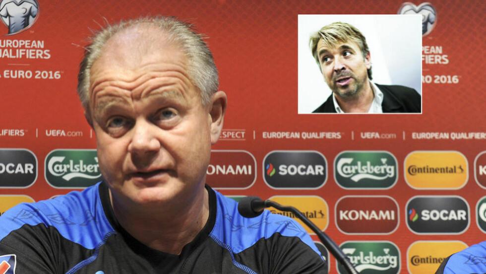 GAMBLER IKKE PÅ NORGE:  TV 2-ekspert Mini Jakobsen tror Norge skal slå Malta, men føler seg ikke trygg nok til å sette penger på det. Foto: NTB Scanpix/Dagbladet