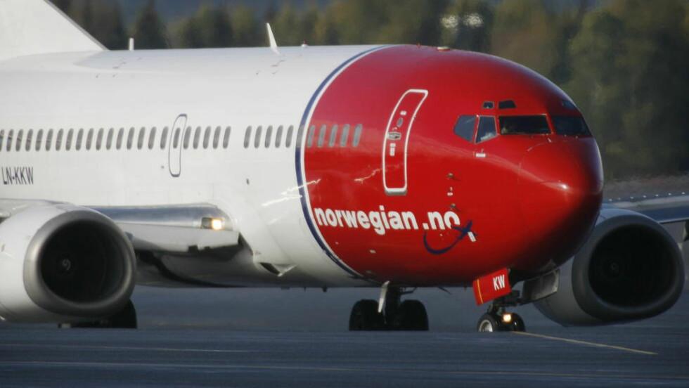 SPARKET PILOT: Norwegian har sparket en erfaren pilot etter påstander om sextrakassering. Foto: Hans Arne Vedlog/Dagbladet.