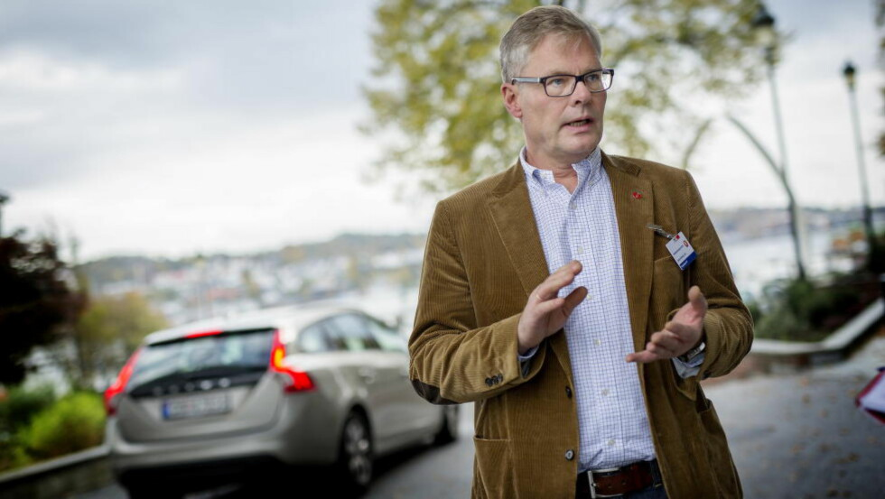 Frp-treff: Hans Andreas Limi er på Frp´s høstkonferanse i Sandefjord. Her går praten om hvordan og hvor mye regjeringen kan komme sentrumspartiene i møte. Foto: Anita Arntzen / Dagbladet