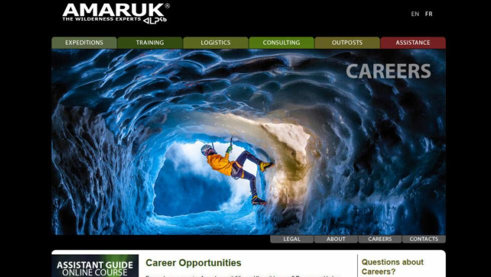 IMPONERENDE: Det «norske» firmaet Amaruk hevder å ha over to hundre ansatte, fordelt over alle kontinenter. Men etter å ha havnet i medias søkelys etter en religionskrangel med en jobbsøker, framstår nå hele firmaet som et luftslott.