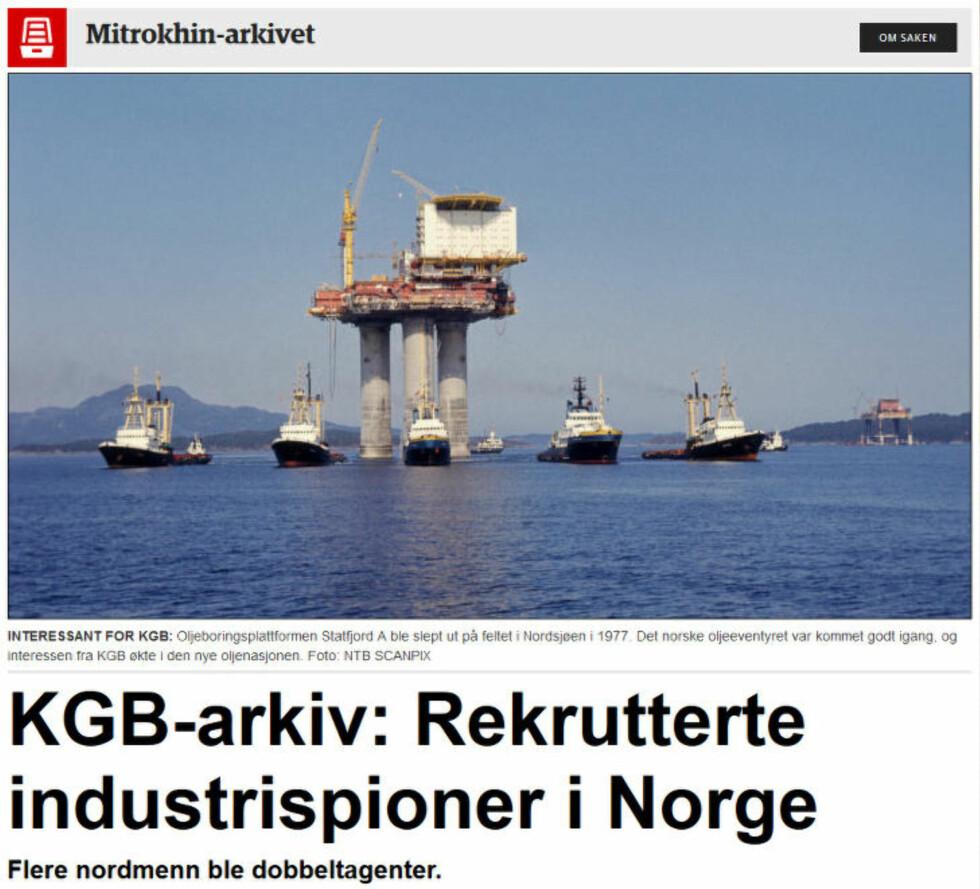 Dagbladet 25. august 2014.