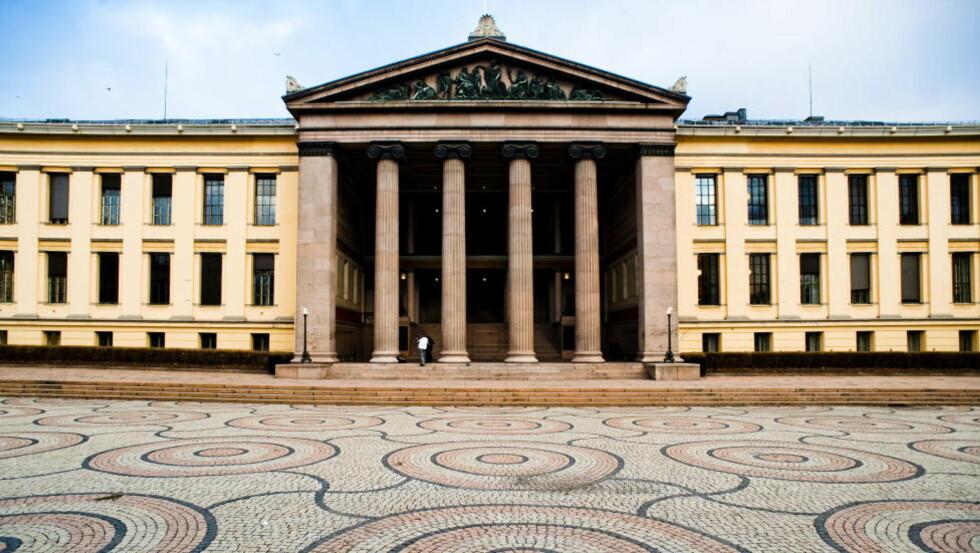 VILLE INFILTRERE: «T-direktoratets 2. avdeling har ytret ønske om å sende agenter og betrodde sovjetborgere som studenter og praktikanter», står det i Mitrokhin-arkivet. Et av målene som blir nevnt er Universitetet i Oslo (bildet). Foto: HÅKON EIKESDAL/DAGBLADET