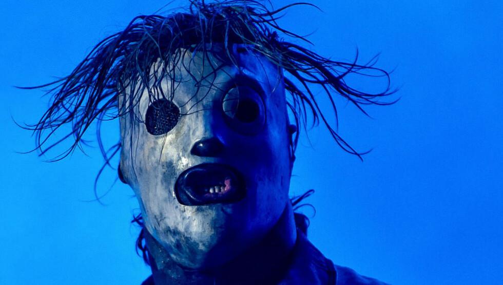 TIL OSLO: Metalbandet Slipknot kommer til Oslo på nyåret. Her under Roskildefestivalen i 2013. Foto: AFP / NTB Scanpix