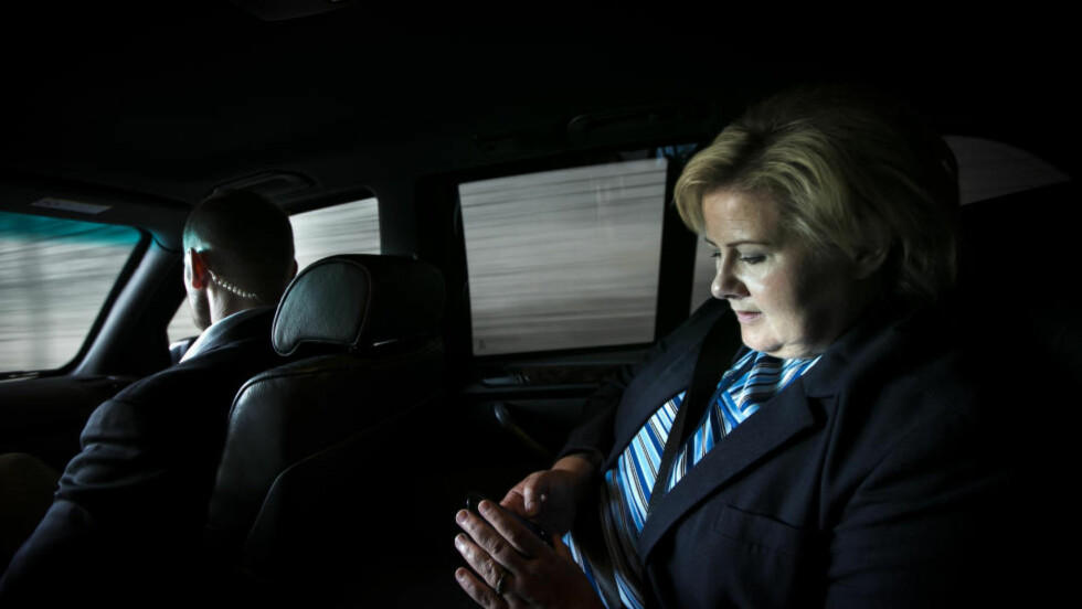 TRUSSELBREV: 20-åringen fra Oslo skal ha sendt trusselbrev til statsminister Erna Solberg.  Foto: Heiko Junge / NTB scanpix