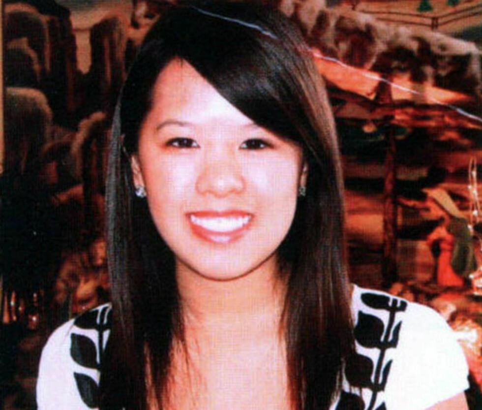 SYK Sykepleier Nina Pham (26) ble selv syk da hun behandlet ebolasmittede Thomas Eric Duncan på sykehuset i Dallas i Texas. Foto: AP Photo/Courtesy of tcu360.com