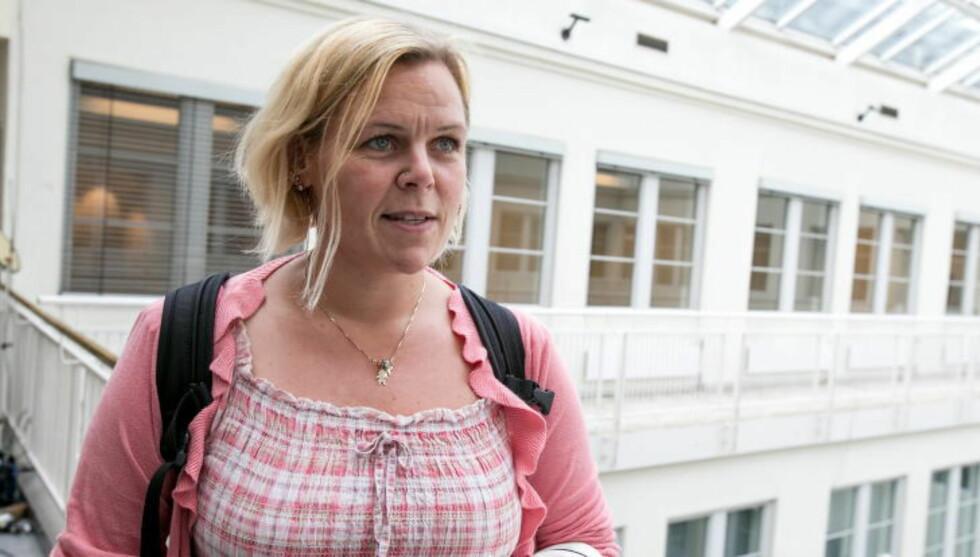 KREVDE AVGANG: Leder i SAFE, Hilde Marit Rysst, hadde forventinger om at Helge Lund snart måtte slutte. Hun har flere ganger krevd hans avgang. Foto: Audun Braastad / NTB scanpix