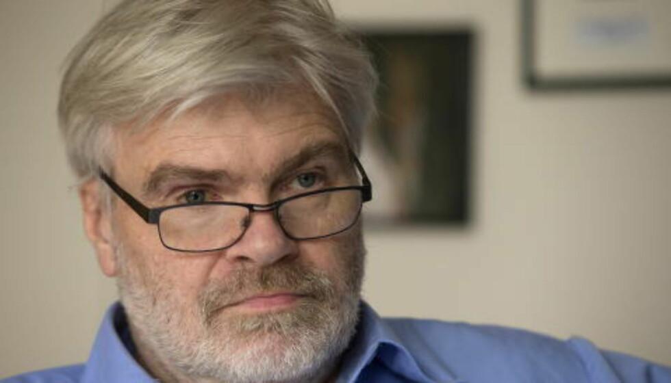 VAR MOTSTANDER: Forbundsleder Leif Sande var motstander av salget av bensinstasjoner og petrokjemisk virksomhet. Foto: Terje Bendiksby / NTB scanpix