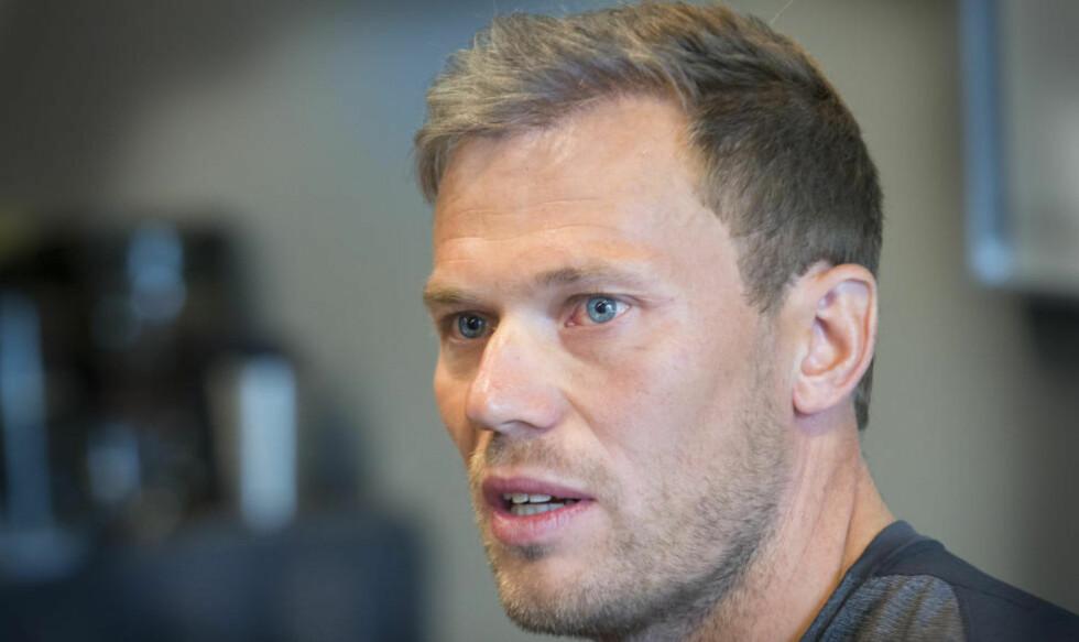 ETTER: Thor Hushovd stusser over at ikke flere har kommentert at han har fått en litt mer hårete manke de siste par-tre årene. Foto: Terje Bendiksby / NTB Scanpix