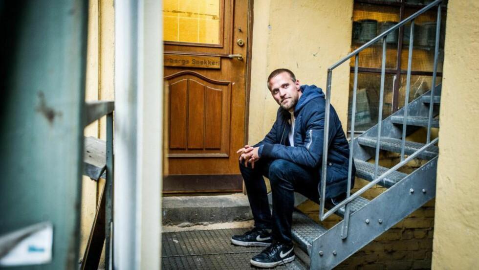 EN HELT VANLIG MANN:  Det første  Tobias Santelmann gjorde etter  innspillingen av «Kon-Tiki» og  «Hercules» var å kjøpe sjokolade. Foto: Thomas Rasmus Skaug