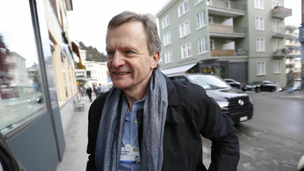 DOBLER INNTEKTEN:  Sammenlignet med 2012, hvor Telenor-sjef Jon Fredrik Bakssas tjente 12,2 millioner kroner ifølge skattelistene, så har han mer enn doblet inntekten, viser skattelistene for 2013, som ble sluppet i dag. Foto: NTB Scanpix.