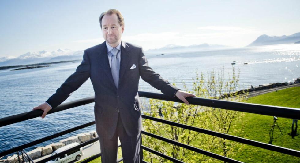 PÅ TOPP: Kjell Inge Røkke har størst formue i Norge, med svimlende 11,8 milliarder kroner. Foto: Thomas Rasmus Skaug